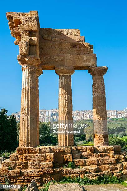 Temple of the Dioskouroi in Agrigento