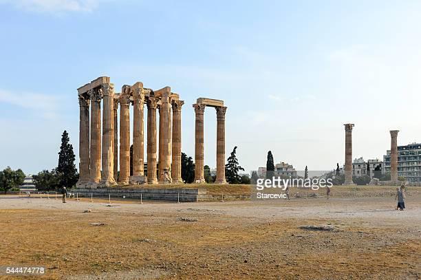 Temple de Zeus Olympien-Athènes, Grèce