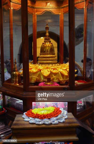 Temple of the Sacred Tooth Relic in Kandy Sri Lanka