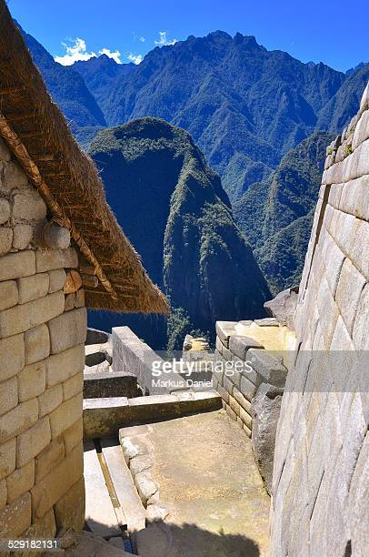 Temple of the Sun in Machu Picchu