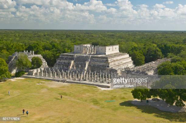 Temple of the Warriors at Chichen-Itza