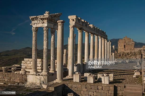 Temple of Trajan at Pergamon
