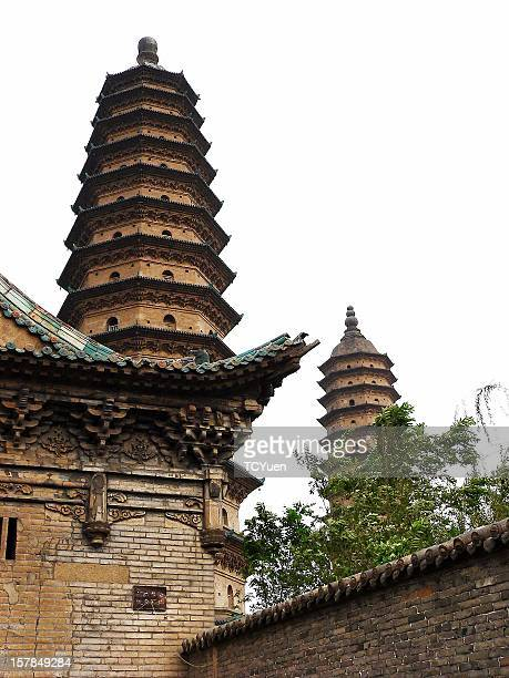 Temple of Twin Pagodas, Shanxi, China