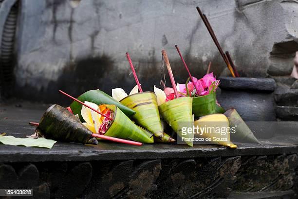 Temple offerings - Bali