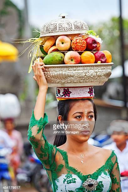Temple offerings, Ubud, Bali