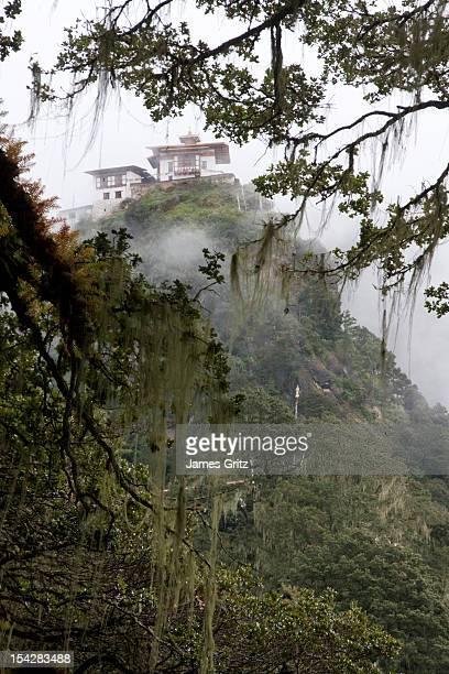 Temple on the path to Taktsang, Bhutan
