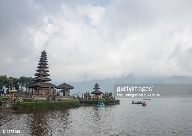 Temple Pura Ulun Danu on Bratan lake Bali island Bedugul Indonesia on July 20 2015 in Bedugul Indonesia