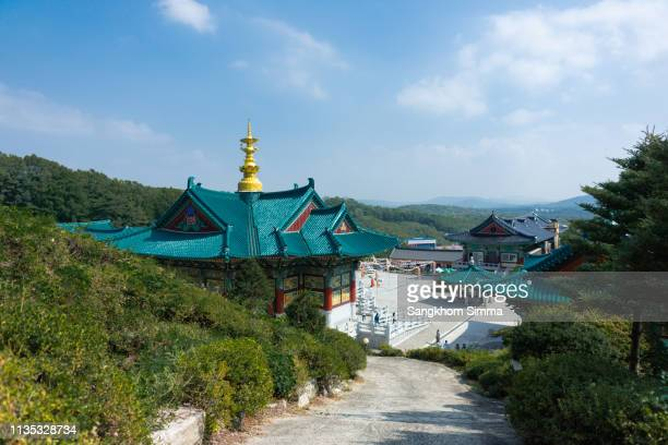 Temple Roof in South Korea.