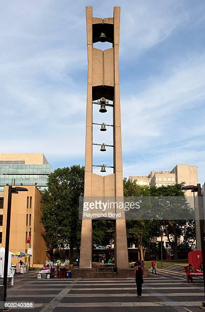 Temple University Bell Tower at Temple University in Philadelphia Pennsylvania on August 27 2016
