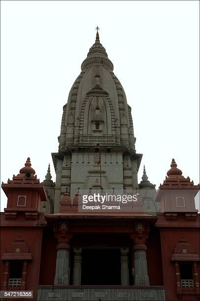 vt temple varanasi - hinduism stock pictures, royalty-free photos & images