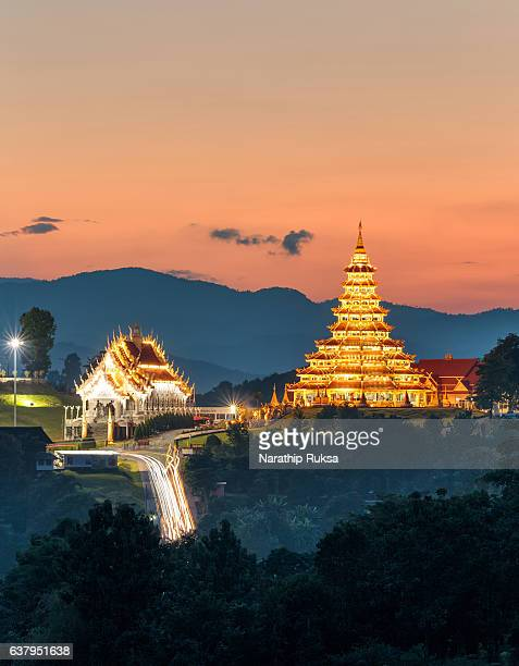 temple wat hyua pla kang (chinese temple) chiang rai, asia thailand, they are public domain or treasure of buddhism, no restrict in copy or use - public domain stock pictures, royalty-free photos & images
