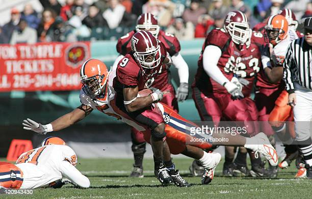 Temple widereciever Ikey Chuku during Temple Owls vs Syracuse Orange at Lincoln Financial Field in Philadelphia on