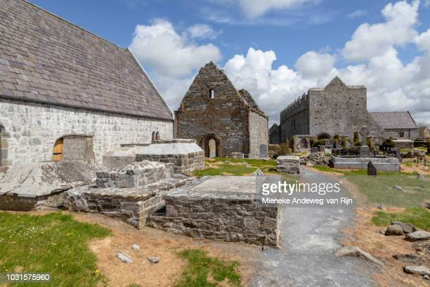 Temple-na-Griffin, Temple-na-hoe and Ardfert Cathedral, Co. Kerry, Ireland