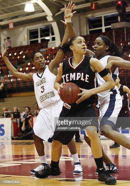 Temple's Candice Dupree was voted tournament MVP after she scored 25 points and 10 rebounds as the Temple Lady Owls defeated the George Washington...