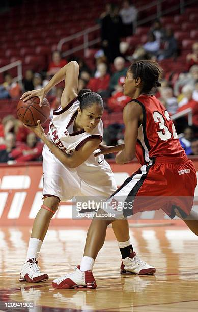 Temple's Kamesha Hairston had 13 points as Temple upset Rutgers during a 71 to 60 Temple Owl victory over the Rutgers Scarlet Knights at the...