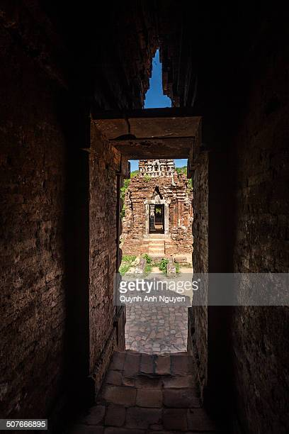 CONTENT] Temples ruins at My Son Sanctuary Quang Nam Vietnam SouthEast Asia Asia