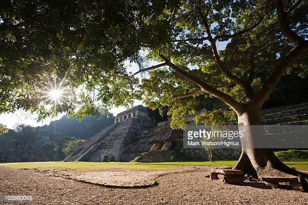 Templo de las inscripciones, Palenque, Mexico.