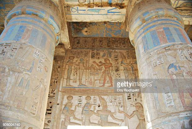Templo de Ramses III. Medinet Habu - Luxor - Egipto