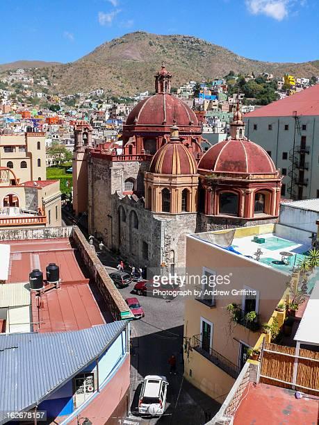 Templo de San Diego, Guanajuato, Mexico
