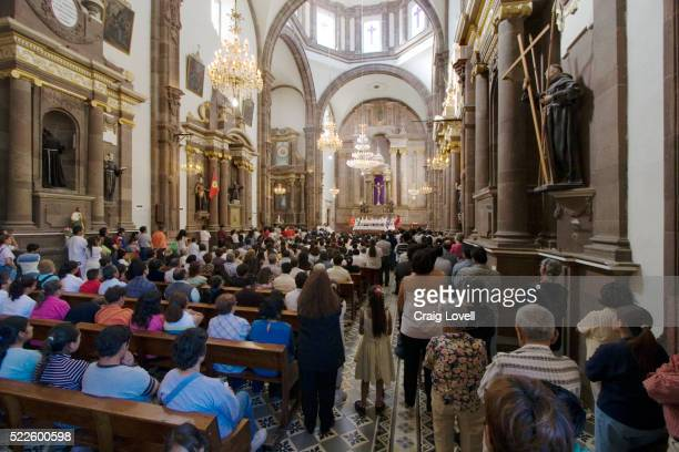 templo de san francisco on easter - good friday stock pictures, royalty-free photos & images