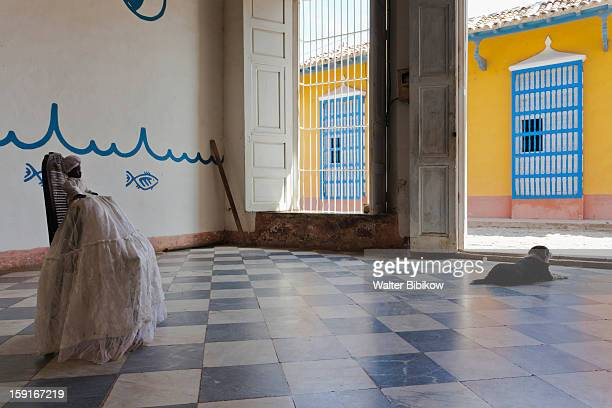 templo de santeria yemay - cuban doll stock pictures, royalty-free photos & images