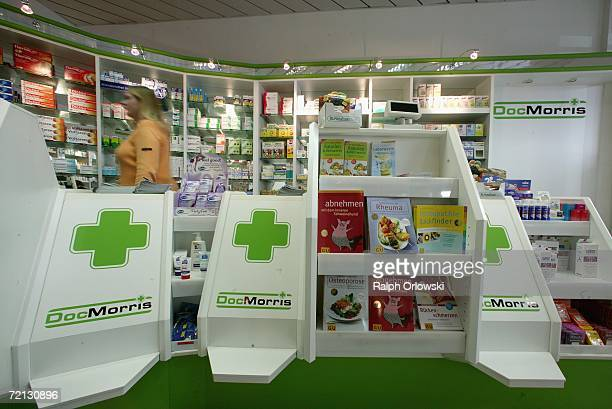 A temporarily closed retail outlet of Dutch mail order pharmacy DocMorris is pictured on October 9 2006 in Saarbruecken Germany The online pharmacy...