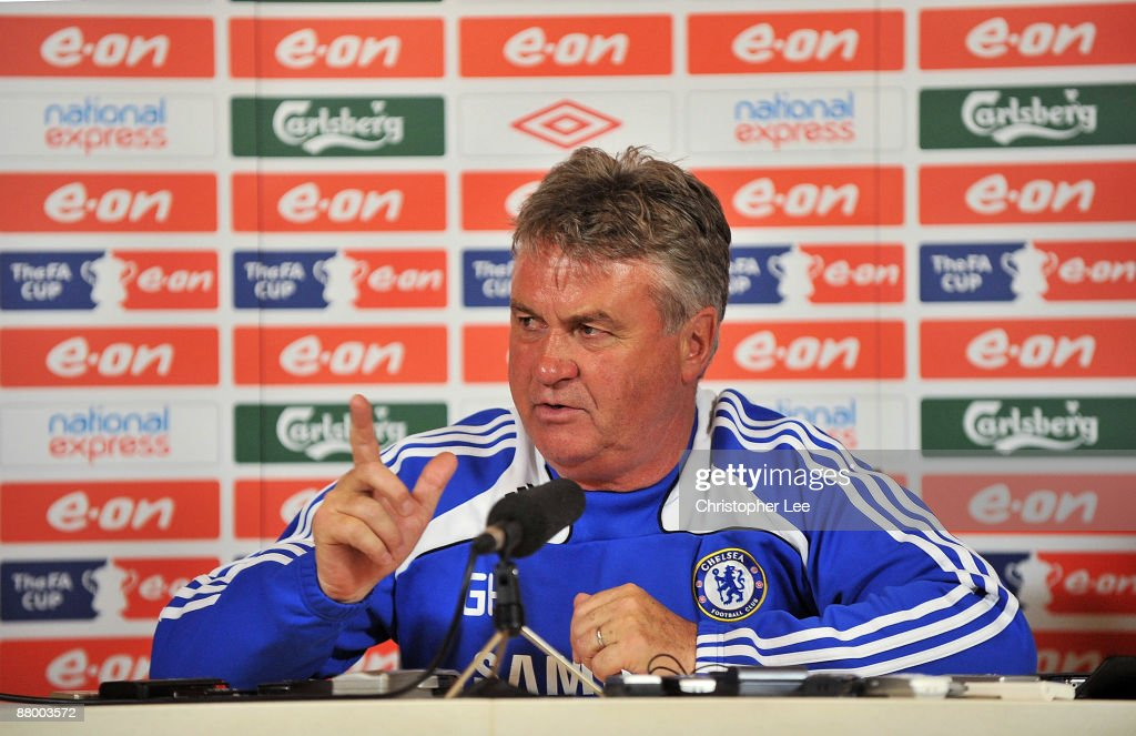 Chelsea Training & Press Conference : News Photo