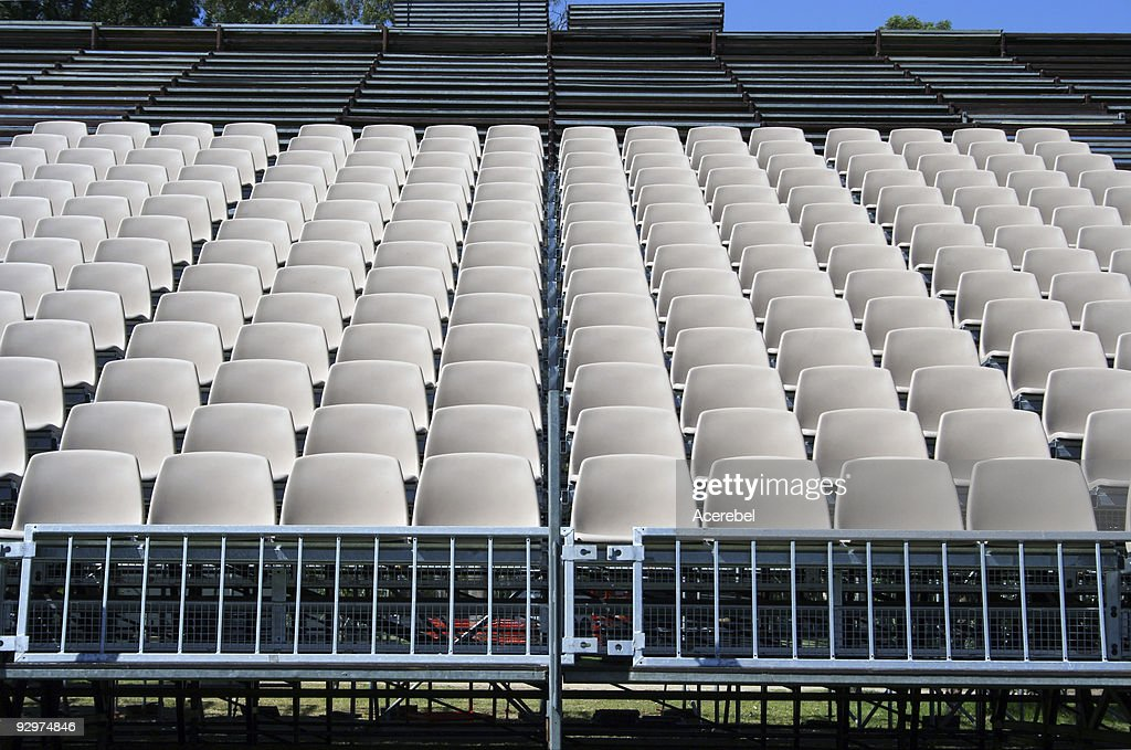 Temporary Stadium Seating Stock Photo - Getty Images