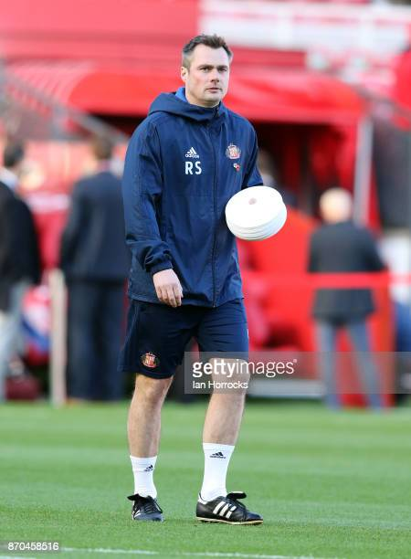 Temporary Sunderland manager Robbie Stockdale before the Sky Bet Championship match between Middlesbrough and Sunderland at Riverside Stadium on...