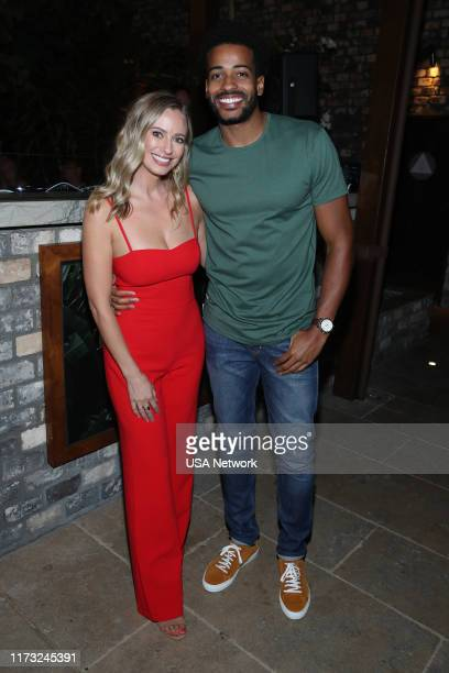 ISLAND Temptation Island Watch Party Pictured Annaliese Puccini The Bachelor Eric Bigger The Bachelorette at the Highlight Room at Dream Hotel in...