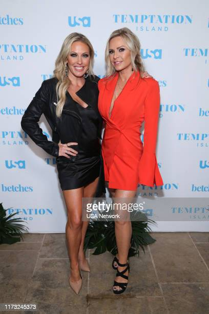 ISLAND Temptation Island Watch Party Pictured Braunwyn WindhamBurke Tamra Judge Real Housewives of Orange County at the Highlight Room at Dream Hotel...