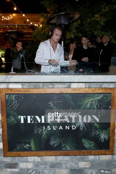 ISLAND Temptation Island Watch Party Pictured DJ James Kennedy at the Highlight Room at Dream Hotel in Hollywood CA on October 2 2019