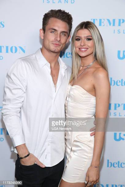 ISLAND Temptation Island Watch Party Pictured DJ James Kennedy Raquel Leviss at the Highlight Room at Dream Hotel in Hollywood CA on October 2 2019