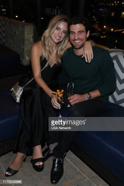 ISLAND Temptation Island Watch Party Pictured Kendall Long Bachelor Joe Amabile Bachelorette at the Highlight Room at Dream Hotel in Hollywood CA on...