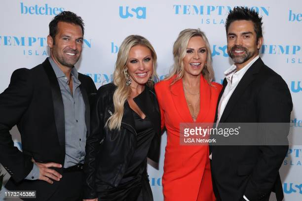 ISLAND Temptation Island Watch Party Pictured Sean Burke Braunwyn WindhamBurke Tamra Judge Eddie Judge Real Housewives of Orange County at the...