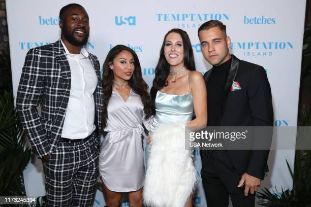 ISLAND Temptation Island Watch Party Pictured Shari Ligons Javen Butler Kaci Campbell Val Osipov Temptation Island at the Highlight Room at Dream...
