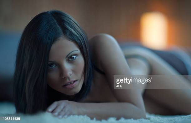 temptation (xxxl) - women dressed undressed stock pictures, royalty-free photos & images