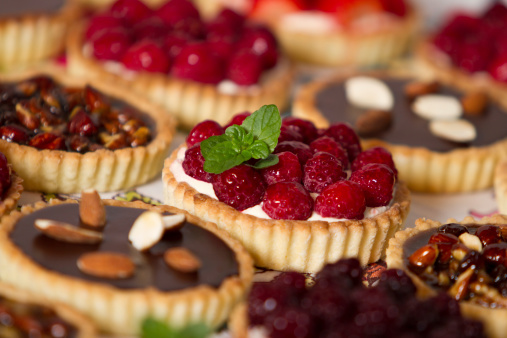 Tempting pastries and pies 186844877