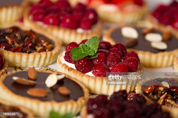 Tempting pastries and pies