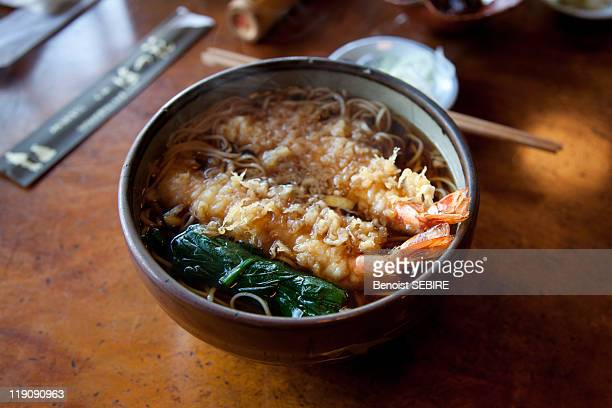 tempura soba - soba stock pictures, royalty-free photos & images