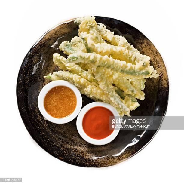 tempura zucchini sticks - 天ぷら ストックフォトと画像