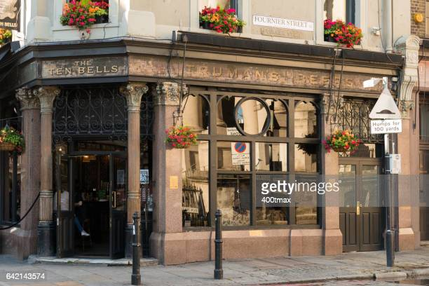 ten bells pub - jack the ripper stock pictures, royalty-free photos & images