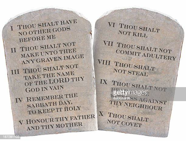 ten commandments stock photos and pictures getty images