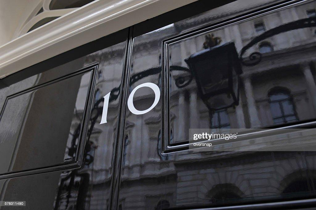 Ten Downing Street : Stock Photo