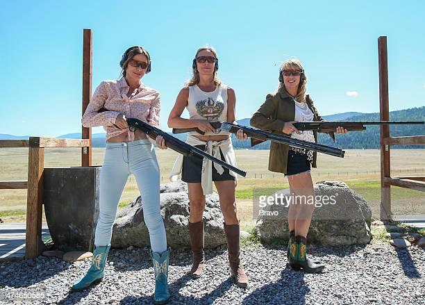 CITY 'Ten Gallon Spats' 'Yell It On the Mountain' 'Bury the Hatchett' Episodes 615 617 Pictured LuAnn de Lesseps Sonja Morgan Ramona Singer