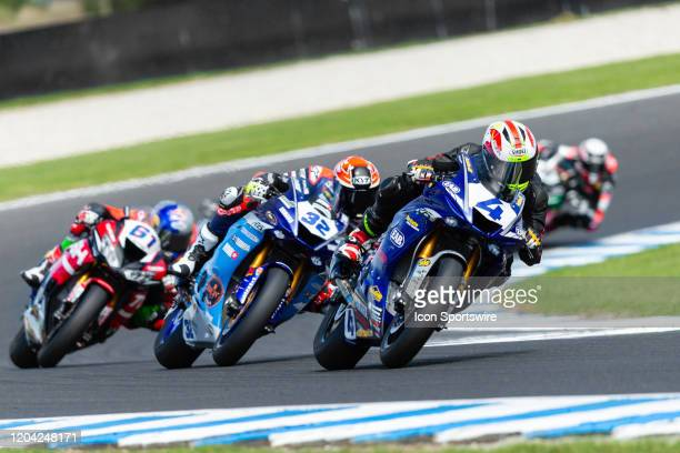 Ten Kate Racing rider Steven Odendaal during round 1 of the 2020 World Superbike Championship on March 01, 2020 at Phillip Island Circuit in...