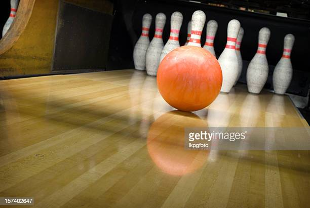 ten pin bowling - bowling stock pictures, royalty-free photos & images