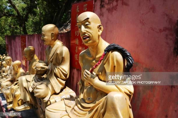 Ten Thousand Buddhas Monastery in Hong Kong