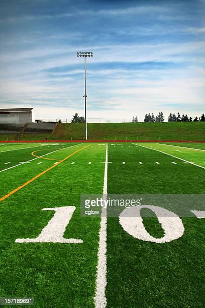 10-Yard-Linie