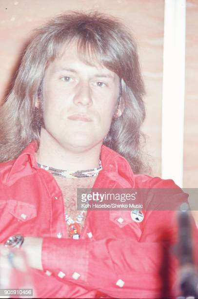Ten Years After at press conference May 1972 Tokyo Japan Alvin Lee